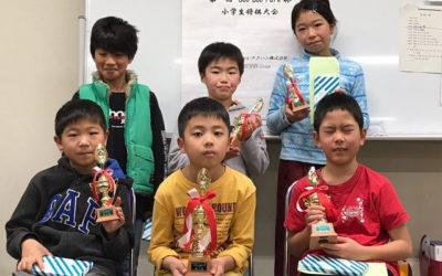 2018年12月15日、第一回 ブーブーパーク杯 小学生将棋大会を開催いたしました。 皆様のご参加をありがとうございました!