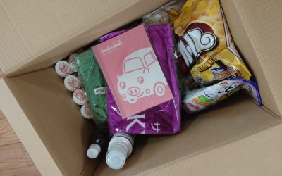 『京都こども宅食プロジェクト』にピスケオリジナルノートを寄贈させて頂きました。